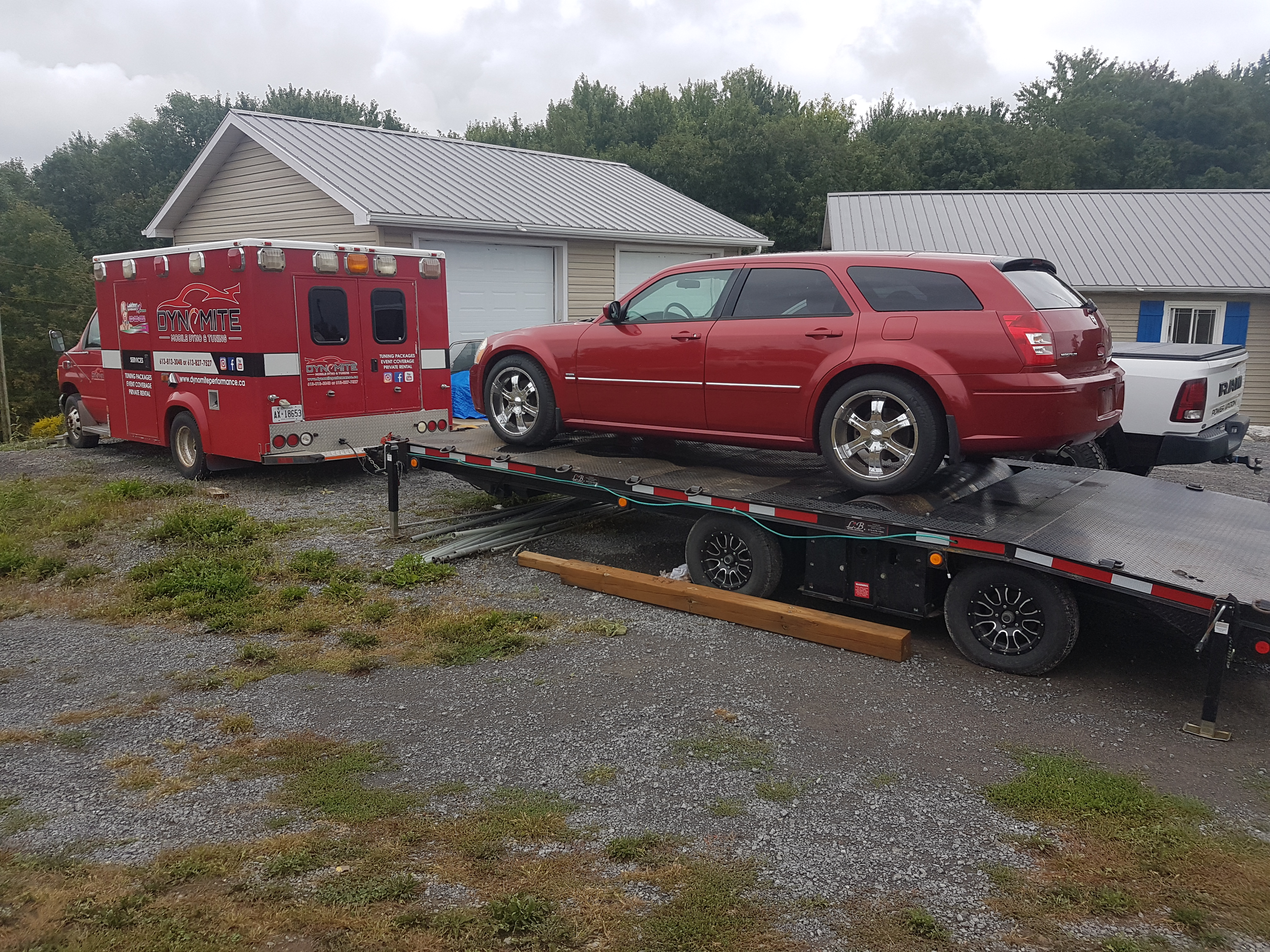 Dynomite Mobile Dyno And Tuning Performance Testing On A 2005 Dodge Magnum